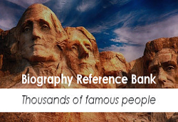 Biography Reference Bank image