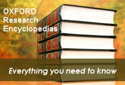 Oxford Research Encyclopedias Image