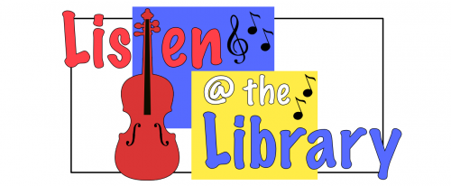 Listen at the Library Logo